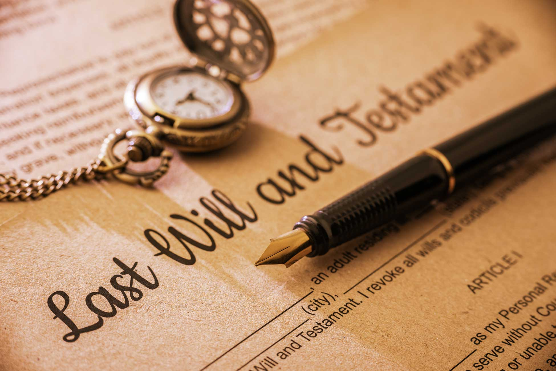 Will services, writing your will